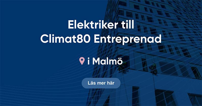 Elektriker Climat80 Entreprenad