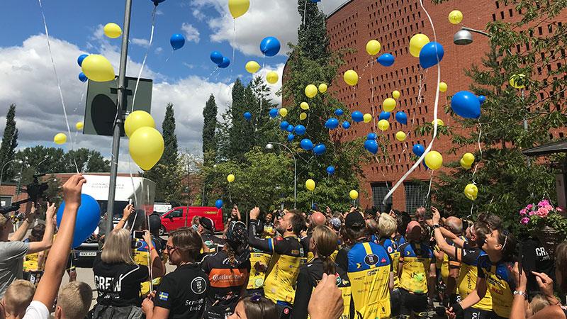 Team Rynkeby - God Morgon till Barncancerfonden – Climat80-Gruppen är en av sponsorerna