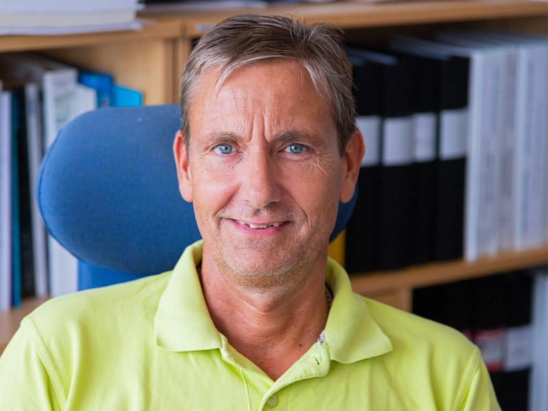 Conny Lindbäck, projektledare på Lunds Värme & Sanitet.