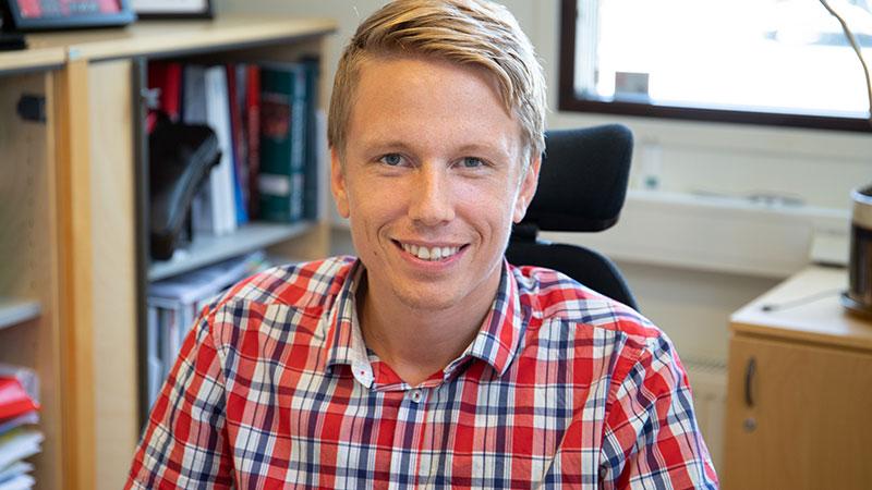 Emil Karlsson -VD Klimatkyl