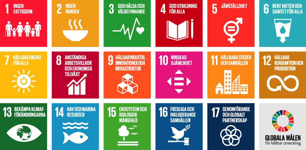 Globala mål FN