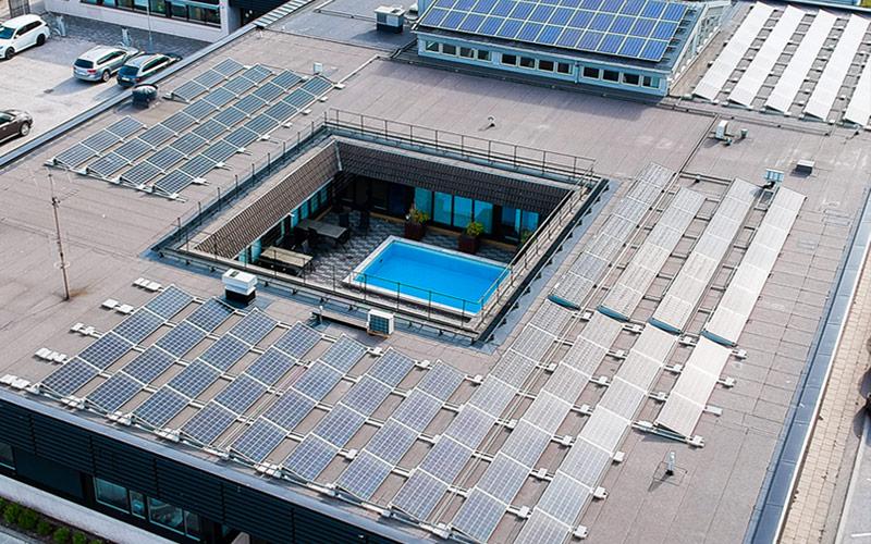 Solceller hos Climat80-Gruppen