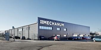 ELFAST har varit med och byggt om fastigheten Stocken 2 till en ny bilverkstad för Mechanum