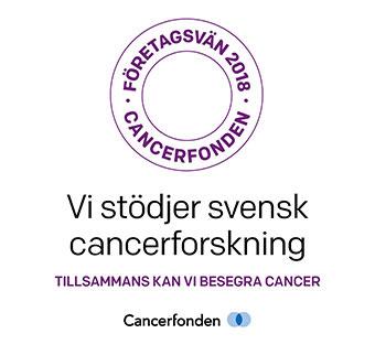 Climat80-Gruppen stödjer Cancerfonden