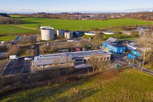334 solpaneler och sänkt CO2 avtryck på VA SYDs reningsverk