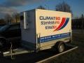 Våra kunder kan hyra mobilt kylsläp.